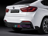 Wholesale FRP And Carbon Fiber Rear Lip Splitter Rear Side Valences F16 X6 M Sport Fit For BMW B363 B363F