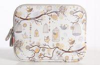 Wholesale Laptop Bags Pattern - Birds & flowers pattern Notebook Laptop Sleeve Case Carry Bag Ipad case bag-gray