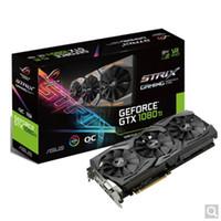 asus e venda por atacado-ASUS STRIX-GTX1080TI-O11G-GAMING Raptor versão não pública do jogo de computador gráficos discretos