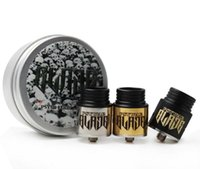 Wholesale Blade Electronic - Hotsale Psywar Blade RDA Atomizer Clone Rebuildable Dripping Tank 24mm Diameter with Wide Bore Drip Tip Vaporizer Electronic Cigarettes