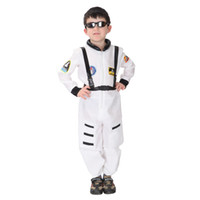 Wholesale children s fancy clothing for sale - children Halloween night party navy uniform police cosplay costume kids cool spacesuits boys Fancy Masquerade ball clothing