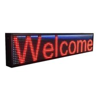outdoor advertising panels - LED Full color advertising panel P10 outdoor led sign board programmable scrolling message text display board