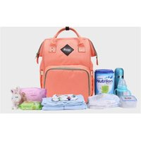 Wholesale Children Nurses - Children Baby Changing Diaper Nappy Mummy Bag Maternity Nappy Bag Brand Large Capacity Baby Bag Travel Backpack Desiger Nursing Bags