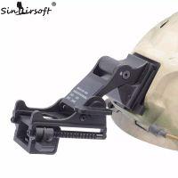 casco táctico del ejército al por mayor-SINAIRSOFT NVG Montaje de brazo MICH M88 FAST Casco KIT DE MONTAJE Airsoft Tactical Ejército Night Vision Goggle Para Casco Accesorios Rhino NVG PVS-7