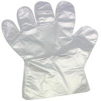 Wholesale Dishes For Home - 2000Pcs Disposable Plastic Gloves For Home Cooking Supply Food Grade PE Transparent Ultrathin Plastic Gloves Bottom Price