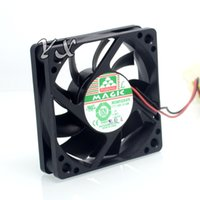 Discount cooling fan magic little case fans MGA6012LR 6cm computer cooling fan Silent fan 6015 big 4 p interface for MAGIC 60*60*15mm