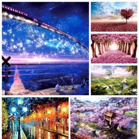 Wholesale Scenery Puzzles - 1000 piece cartoon fantasy scenery love tree landscape paper puzzles for adult DIY attractions jigsaw puzzle toys
