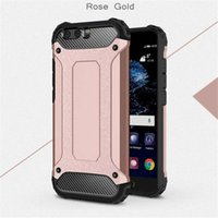 Wholesale Cell Combo - TPU + PC Case Cover for HuaWei P10 Lite P10Lite P10 Plus Honor V9 Cell Phone Combo Case