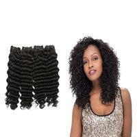 Wholesale Affordable Malaysian Curly Hair - Affordable Malaysian Curly Virgin Hair 4 Bundles Cheap Human Hair Malaysian Virgin Hair 7A Malaysian Deep Curly Weave