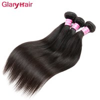Vente en gros sans brouillard brésilien Straight Remy Virgin Hair Weave Sale Pas cher Hair Extension Weave Bundles Livraison gratuite Hair Products for Girl