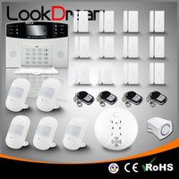 Wholesale Burglar Home Alarm System - Update Commercial Wireless House Security Anti Burglar Home Alarm Systems Low Consumption Power By DHL Free