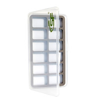 Wholesale Trout Flies Wholesalers - Wholesale- SF Super Slim Fly Fishing Box Wet Flies Trout Hook 12 Magnetic Compartments