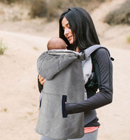 Hot Sale New Winter Baby Carrier Capa A prova de vento Warm Baby Sling Cape Mantle de alta qualidade T 1143 FREE SHIPPING
