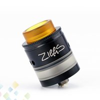 Wholesale slotted pin for sale - Group buy Authentic Advken Ziggs RDTA Tank Open Cotton Slots Design ml Capacity with K Gold Plated Contact Pin Vape Ecig DHL Free