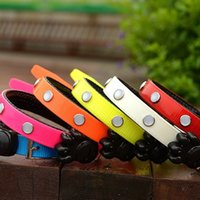 Wholesale Tpu Pet Collars - Pet Collars TPU Luminous Kennels Cat Collar High Quality Kennels Light The Dog Ring LED Chokers New Arrival 19 5gr