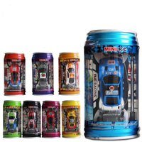 Wholesale Mini Racing car cartoon Remote Control Car Coke cans Radio Remote Control Racing Car kids toys C2521