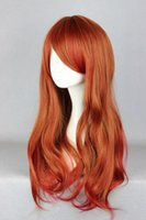 Wholesale 65cm Hair - Synthetic Hair Wigs MCOSER Free Shipping Cheap 65cm Long Color Mixed Beautiful lolita wig Anime Wig