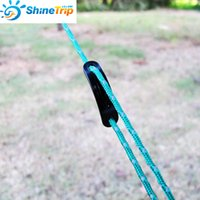 Wholesale Wind Door Stoppers - Mini Ultralight Camping Wind Rope Buckle Aluminum Alloy Tent Wind Stopper Tent Rope Adjust Tentorial Wigwam Buckle 034