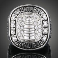 Wholesale League Championship Ring - 2017.N.H.L.Classic Fan Heavy Mans Champion Ring Cheap Price Men Jewelry National Hockey League Montreal Canadian Team Championship Ring