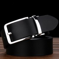 Wholesale Men S Real Leather - 2017 New Fashion High quality imported real leather men designer waistbands luxury brand belts fashion business casual belt