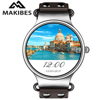 Portuguese spanish talking watches - New Makibes Talk T1 Android Smart Watch MTK6580 Quad Core G WIFI Bluetooth GPS Watch Heart Rate Monitor Smart Watch Phone