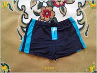 Wholesale Pattern Boxer Briefs - Wholesale- Men Boxer Swimming Trunks Patchwork Pattern Swimwear for Men Swimsuit In Briefs Plus Size 8XL Wholesale and retail