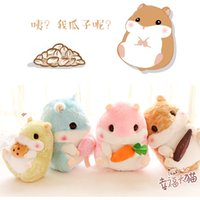 Wholesale Cute Fat Girls - 45 cm 18 inch Cute Japanese fat hamster dolls Stuffed guinea pig Doll plush toys Baby's Sleeping doll children's day gift Kids Girls Toys