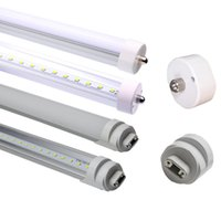 Wholesale End Light - LED 8Ft Tube Light, 4000K 5000K 6000K (Cool white),FA8 single pin,R17D connector ends, 100V-277V AC, 45W-4800LM(90W Fluorescent equivalent)