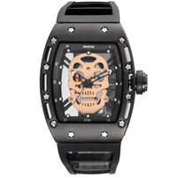 Wholesale pirates watches for sale - SKONE Pirate Skull Style Quartz men Watches Brand Men Military Silicone Men Sports Watch Waterproof Relogio Masculino