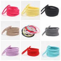 Wholesale Wholesale Nylon Spandex - DIY hair hoop Baby headbands Baby Girls Soft Spandex Nylon Headbands Skinny Very Stretchy Infant Toddler Headwear Childrens Hair Accessories