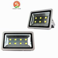 Wholesale Outdoor Power Cable - 300W 400W Led Lights Outdoor Wall Lamp Led Floodlight Waterproof High Power Led Flood landscape Square Lighting AC 110-277V With 1.5m Cable