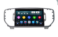 Wholesale Car Dvd For Kia Sportage - Android 6.0 Car DVD GPS For kia sportage 2016 2017 3G 4G Wifi Bluetooth maps Rear Camera