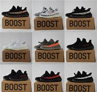Wholesale 2017 Authentic Original Boost V2 Men and Women White red Black Pink Outdoor Running Shoes Casual shoes Run up shoes