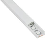 Wholesale Aluminium Floor Strip - 10 X 1M sets lot Anodized U type aluminium profile led light and extruded led strip smd5630 flooring or wall lights
