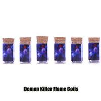 atomizador 316l venda por atacado-Authentic Demon Killer Bobina Chama Pré-Construídos 0.25 / 0.35 / 0.5ohm 316L Fios de Aquecimento Para DIY E Cigarro RDA RTA Atomizers