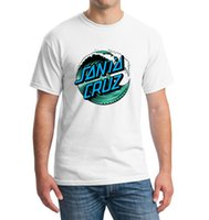 Wholesale Mens Shirts Points Sleeve - Wholesale- Point Break OEM Skateboard Skate Santa Cruz Men T Shirt Cotton Printed Loose T-shirt Tees Camiseta Mens Clothing