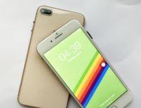 Wholesale Body Google - 2017 New Goophone 8 I8 Plus MTK6592 Octa Core 4GB RAM 64GB ROM Fingerprint 13MP Metal Body 3G GPS Unlocked i8 cell phone