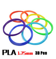 Wholesale Pen 3d - (10M, 36Color Option) New High Quality 3D Pen Printer Filament PLA Diameter 1.75mm Filament Materials