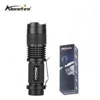 Wholesale Tactical Flashlight Holder - AloneFire SK68 mini flashlight 7w Torch Holder LED Flashlight lights Lamp Front Torch Waterproof Bicycle Light Bike