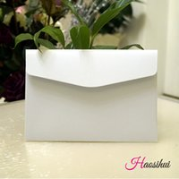 Wholesale Envelopes For Greeting Cards - 13.3X19.3cm 25pcs lot Rectangle Kraft Paper Envelope for Wedding Party Invitation Card Postcard Photo Letter greeting cards