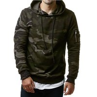 Wholesale men military clothing for sale - 2017 New Mens Hoodies and Sweatshirts Zipper Hooded Sweatshirts Male Clothing Fashion Military Hoody For Men Printed Hoodies XL