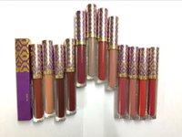 Wholesale Full Paints - (in stock ) New Hot Makeup lipstick Lip Paint Matte Liquid lipstick Lip Gloss 12 colors ! DHL Shipping
