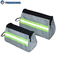 Wholesale Electrical Storage - Wholesale- 1pc Storage Tools Bag Utility Bag Electrical Package Multifunction Oxford Canvas Waterproof Toolkit