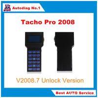Wholesale Tacho Pro Full - Full Set Universal Tacho Pro Mileage Correction Tool Tacho Pro 2008 Unlock Version Odometer Correction Tacho Programmer DHL Free