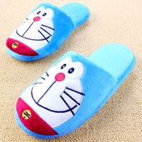 Wholesale Wholesale Women Shoes For Sale - Wholesale-Cartoon Plush Slipper Kawaii Animal Home Shoes Soft Cute Plush Slippers For Men And Women Pantuflas Indoor Chaussons Hot Sale