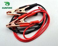 Wholesale Engine Meters - High quality clips for car emergency jump starter   Auto engine booster cable storage battery clamp 300Ampere 2 meters long