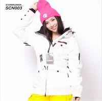 Wholesale Sport Snowboard Jackets - Free shipping Women Ski Jacket Windproof Waterproof Outdoor Sport Wear Snowboard Skiing Super Warm Female Coat Winter Thicken