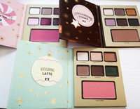 Wholesale Hotel Shadow - LATTE Too Eyeshadow Palette Grand Hotel Cafe Eye Shadow Christmas Limited Edition Eye Shadow Palette 3 Style MOCHA COOKIE Eyes Faceed Makeup