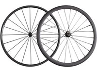 Full Carbon 24 + 38MM Clincher / Tubular Road Carbon Bicycle Wheels Powerway R13 Hub Fiber Road Bike Carbon Wheelset