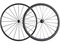 Wholesale Carbon Fiber Alloy Wheels - Full Carbon 24+38MM Clincher Tubular Road Carbon Bicycle Wheels Powerway R13 Hub Fiber Road Bike Carbon Wheelset